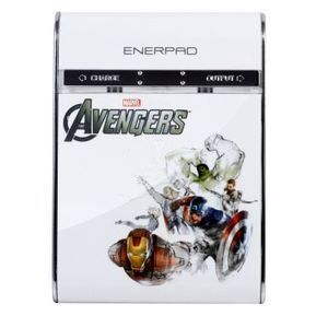 """Enerpad """"The Avengers"""" AA/AAA Power Bank+Charger - CD-300W (Limited Edition) 