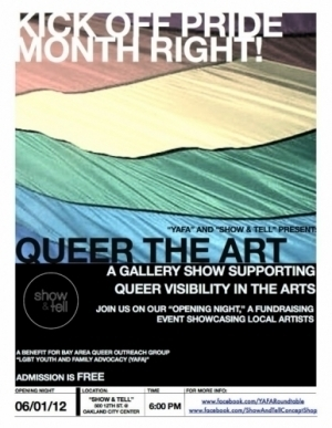 Art Opening | Queer the Art at Show and Tell Concept Shop 6/1 | San Francisco | Around Town | Scoop.it