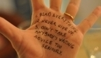 Writers Share Advice By Writing On Their Own Hands - DesignTAXI.com | Social Age | Scoop.it