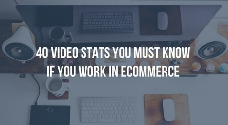 40 Video stats you must know for ecommerce | Video Marketing & Content | Scoop.it