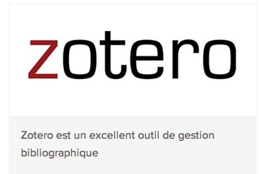 Zotero : comment séduire en méthodologie? | Zotero | Scoop.it