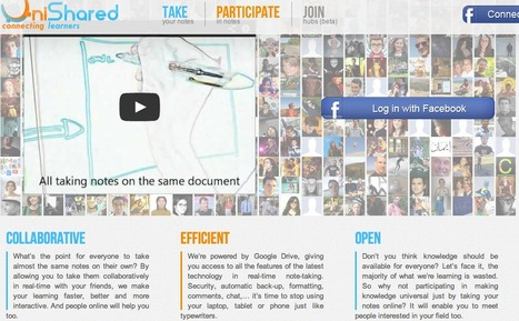 UniShared - Social Note-taking in Real-Time | Technology Resources for K-12 Education | Scoop.it