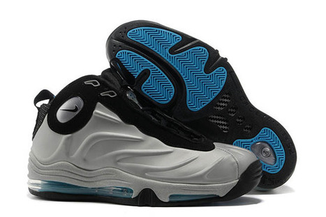 Total Air Foamposite Max Metallic Silver/Black Nike Sport Shoes | new and share list | Scoop.it
