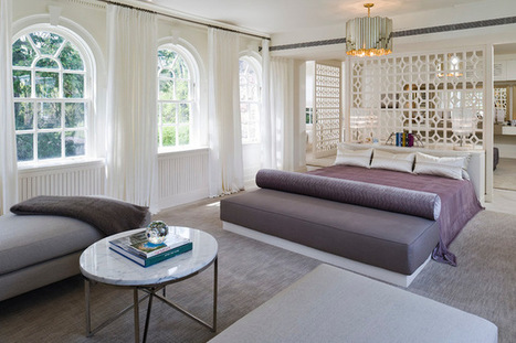 Dreaming in Color: 8 Enchanting Purple Bedrooms | Designing Interiors | Scoop.it