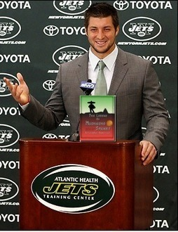 Tebow Thankful for Other Good Book | Adventures in Life | Scoop.it
