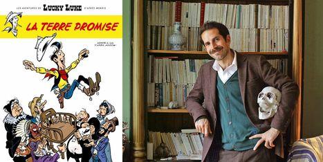 Le nouveau Lucky Luke, La Terre promise, sort le 4 novembre | POURQUOI PAS... EN FRANÇAIS ? | Scoop.it
