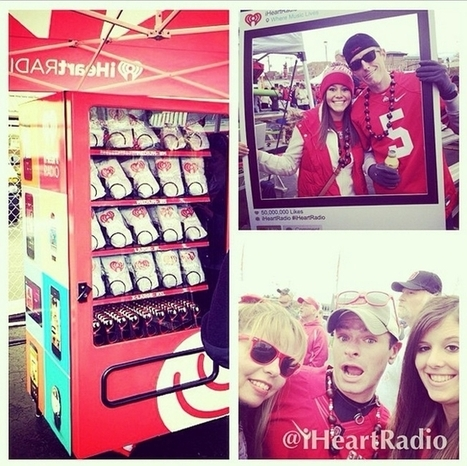 IHeartRadio's Vending Machine Turns Instagram Photos Into Swag | Digital Strategy For Radio | Scoop.it