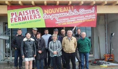 Ouverture du premier magasin Plaisirs fermiers | Circuits courts | Scoop.it