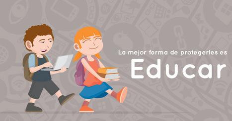 Educar para proteger. Guías de formación TIC para padres y madres. - Inevery Crea | EduTIC | Scoop.it