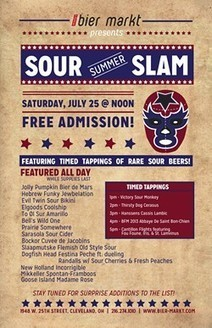 Bier Markt's Summer Sour Slam a Celebration of all Brews Wild and Funky | International Beer News | Scoop.it