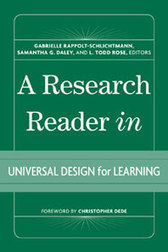 A Research Reader in Universal Design for Learning | Accessible Computing | Scoop.it