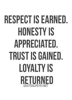 Respect, Trust, and Loyalty | The Heart of Leadership | Scoop.it