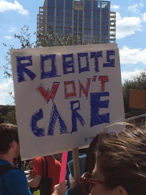 Anti-Robot Protest Held At SXSW | The Robot Times | Scoop.it