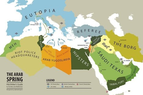 This Funny Map Explains the Arab Spring | The Muslim World Review | Scoop.it