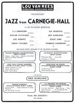 Keep (it) Swinging: Jazz from Carnegie Hall: 1958 All-Star band live in Amsterdam | Jazz Plus | Scoop.it
