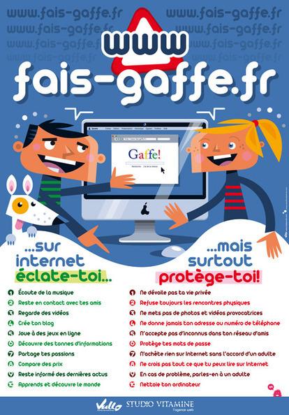 Fais-Gaffe, site conseil pour les enfants : utilisation d'Internet avec responsabilité | Sites pour enfants | Scoop.it