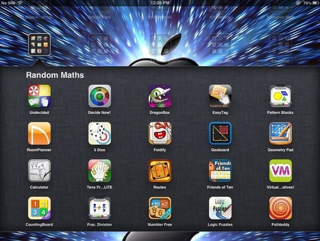 20 random iPad Maths Apps that help cover all areas of curriculum | Learning With ICT @ CBC | Scoop.it