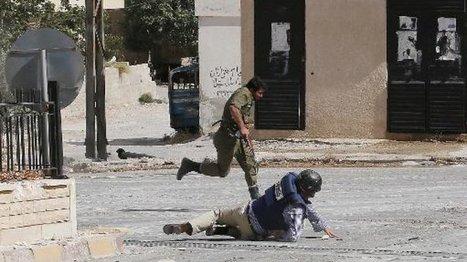 Face au danger, de moins en moins de journalistes en Syrie | DocPresseESJ | Scoop.it