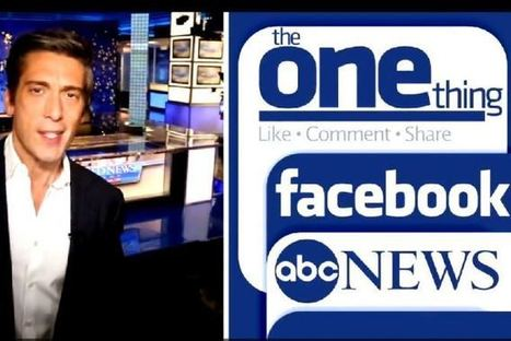 ABC News Hopes You Like Its New Facebook-Based Newscast- news in a minute?   Psychology of Consumer Behaviour   Scoop.it