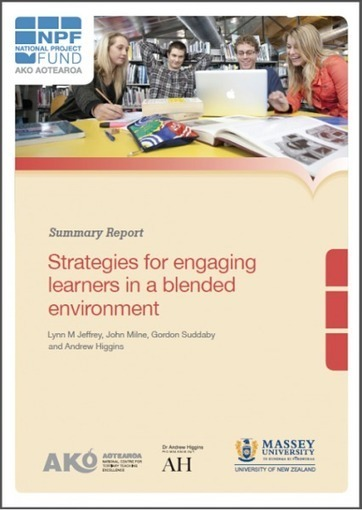 Help or Hindrance: Blended approaches and student engagement - Ako Aotearoa | Online Student Engagement in Higher Education | Engagement Based Teaching and Learning | Scoop.it