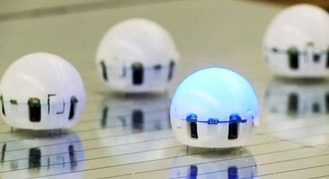 Ping Pong Ball-Sized Robots Can Swarm Together To Form A Smart Liquid | Robots and Robotics | Scoop.it