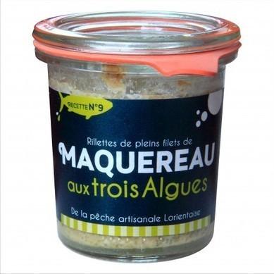 Conserve de pleins filets de Maquereaux aux trois algues   Algues en Bretagne   Scoop.it