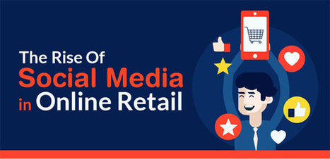 The Rise Of Social Media in Online Retail [INFOGRAPHIC] | Infographics by Infographic Plaza | Scoop.it
