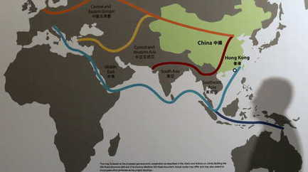 La nouvelle route de la soie | Identités de l'Empire du Milieu | La Chine vue par la géographie | Scoop.it