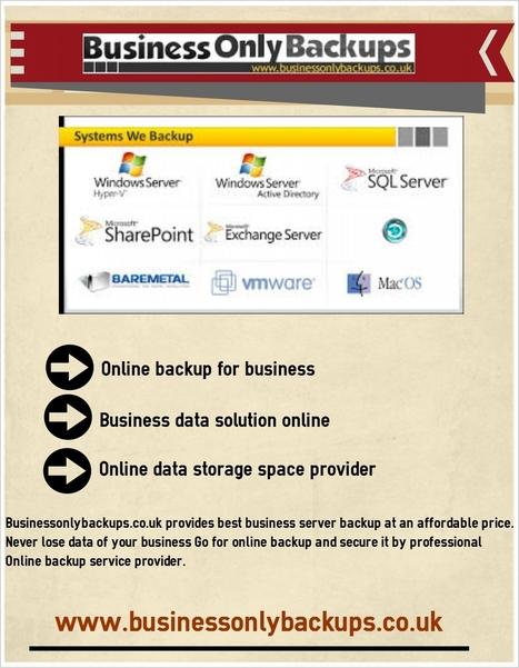 Business data solution - online backup | online backup | Scoop.it