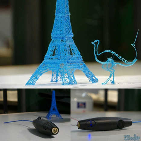 The 3Doodler - A 3D Printing Device | 3d Print | Scoop.it