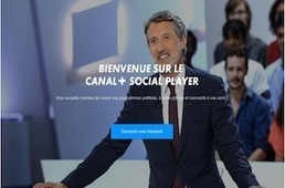 French channel Canal+ launches a brand new TV experience: The Social Player - Lost Remote | screen seriality | Scoop.it