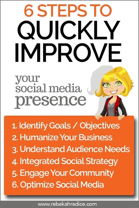 How to Quickly Improve Your Social Media Presence | NEED EXTRA HOURS IN YOUR DAY? | Scoop.it