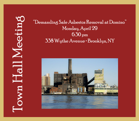 Williamsburg Community and ADAO: Demanding Truth, Answers, and Transparency about Asbestos   Asbestos and Mesothelioma World News   Scoop.it