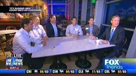Fox News introduces Romney sons with gay anthem 'It's Raining Men' | Daily Crew | Scoop.it