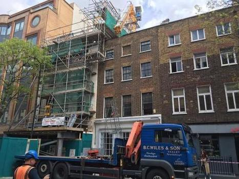 Rooftop crane collapses #london #construction | Workplace Health and Safety | Scoop.it