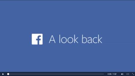 Cadeau ! Rétrospective vidéo de vos dernières années sur Facebook | Animer une communauté Facebook | Scoop.it