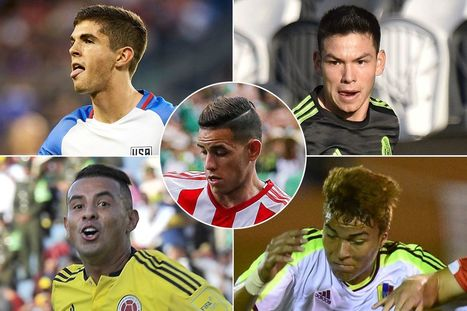 Copa America 2016 Five young players who could make their name at the tournament - Copa America Centenario 2016 | General News | Scoop.it