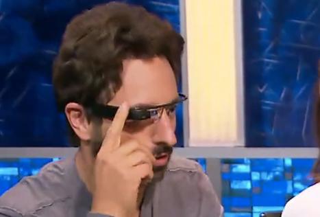 Sergey Brin Finally Lets Someone Else Wear Google Glass | Digital Media 101 | Scoop.it