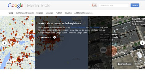 It's Live Now Google's Suite of its Digital Resources to Journalists: Google Media Tools | Recursos Web 5 | Scoop.it