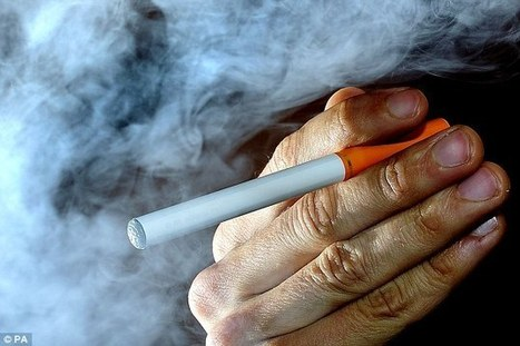 Health chief steps down after crude 'e-cig' rant on Twitter | Vaping | Scoop.it