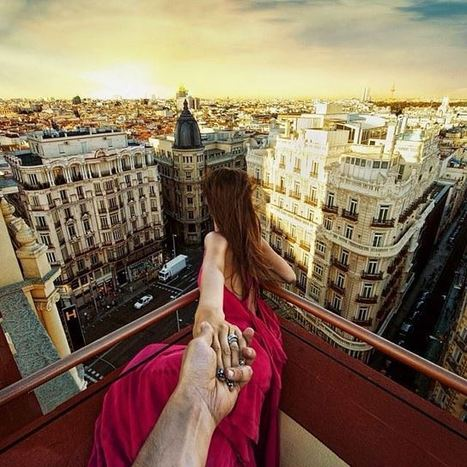 Photographer's Girlfriend Leads Him Around the World in Touching Series   Creating new possibilities   Scoop.it