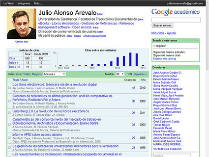 Como crear tu perfil de investigador en Google Scholar Citations | Formación Digital | Scoop.it
