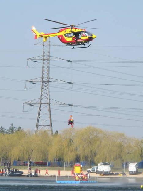 Crue centennale : spectaculaire exercice de sauvetage à Valenton | 94 Citoyens | Charentonneau | Scoop.it