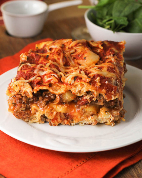 Classic Light Lasagna | The Man With The Golden Tongs Goes All Out On Health | Scoop.it