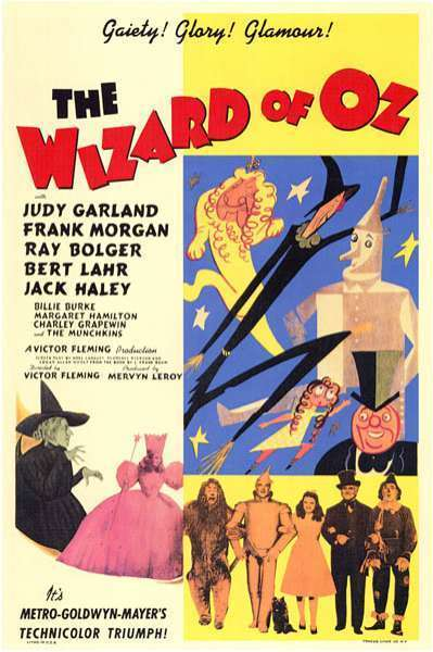 Primary Source 2: The Wizard Of Oz Movie Ad | 1930s Cinema And Movies | Scoop.it
