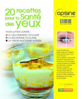 Un livret de recettes pour améliorer la santé visuelle | have a good cook health attitude | Scoop.it