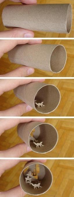 """Art of the Toilet Paper Roll   CF Art Dept """"stuff""""   Scoop.it"""
