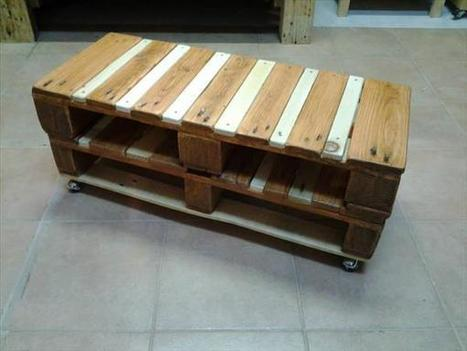 How to Build a Beautiful Pallet Coffee Table | Spark DIY - Inspiration for Every DIY Project | Inbound Power | Scoop.it