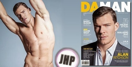 Alan Ritchson cover boy per DaMan - JHP by Jimi Paradise ™ | JIMIPARADISE! | Scoop.it