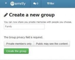 Memrify. Votre journal intime en ligne | Les outils du Web 2.0 | Scoop.it